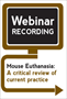Mouse Euthanasia: A Critical Review of Current Practice (Webinar Recording)
