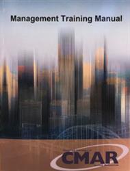 Management Training Manual (CMAR)